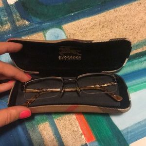 Burberry prescription Glasses with Case